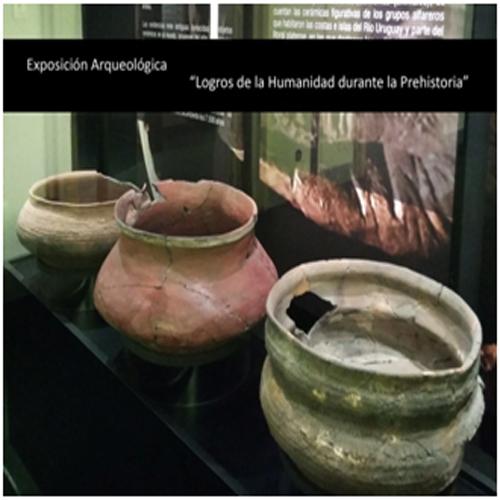 cerámicas indígenas de la exposición logros de la humanidad