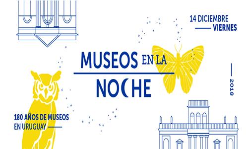 afiche museos en la noche 2018