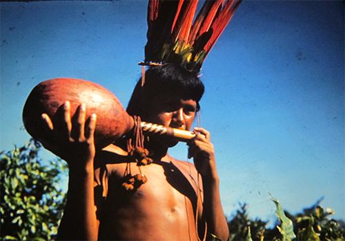 indígena  Cayapó