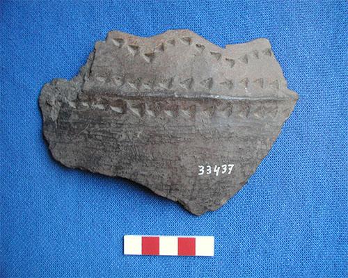 Fragmento de pieza cerámica