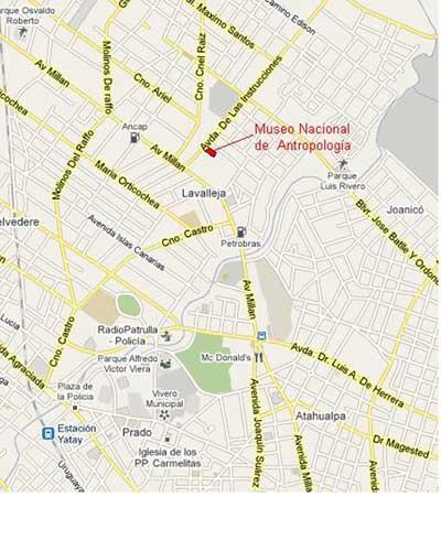 Ubicación del Museo en mapa