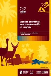 """portada libro """"Especies prioritarias"""""""