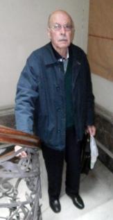 El Dr. Osorio en el MNHN, abril de 2016